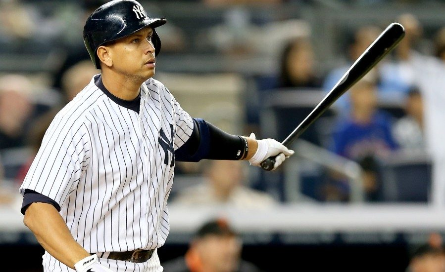 ALEX RODRIGUEZ MLB RBI YANKEES