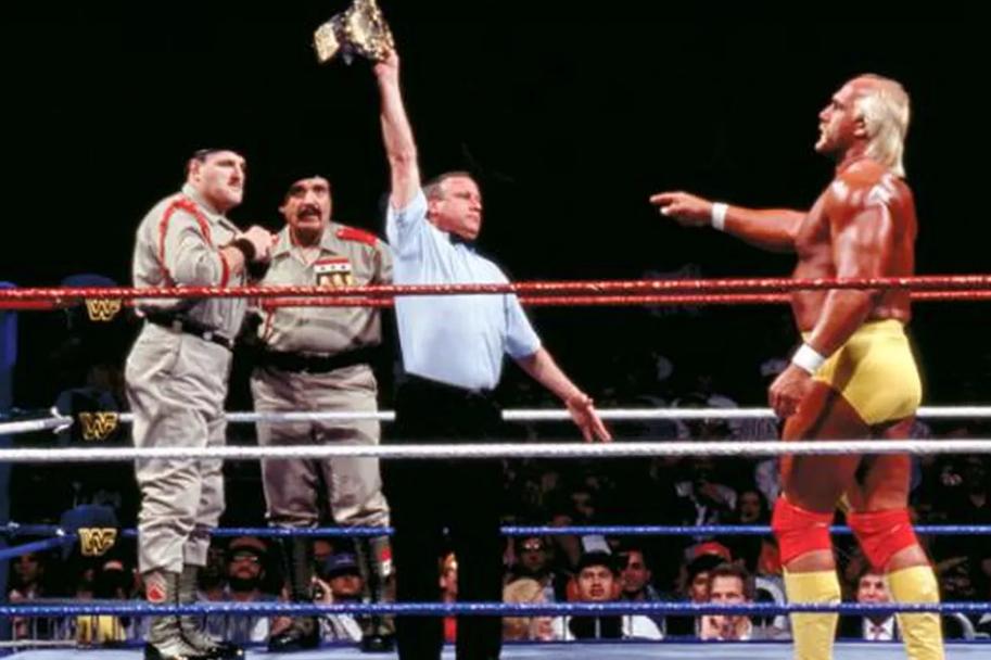 Hulk Hogan Los Angeles Wrestlemania