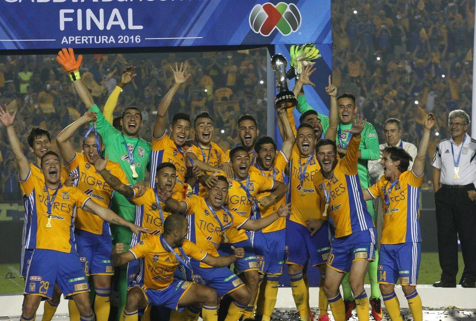 Resultado de imagen de Tigres 2016