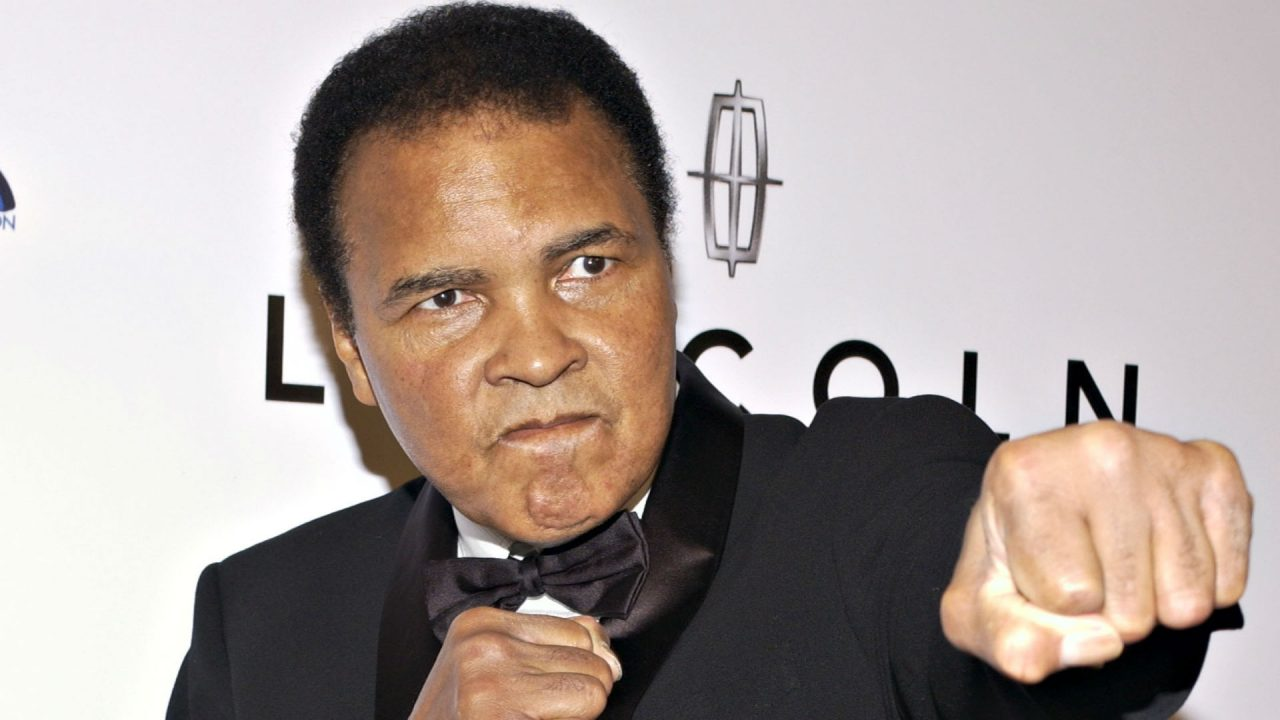 Muhammad Ali Hijo esposa detenidos
