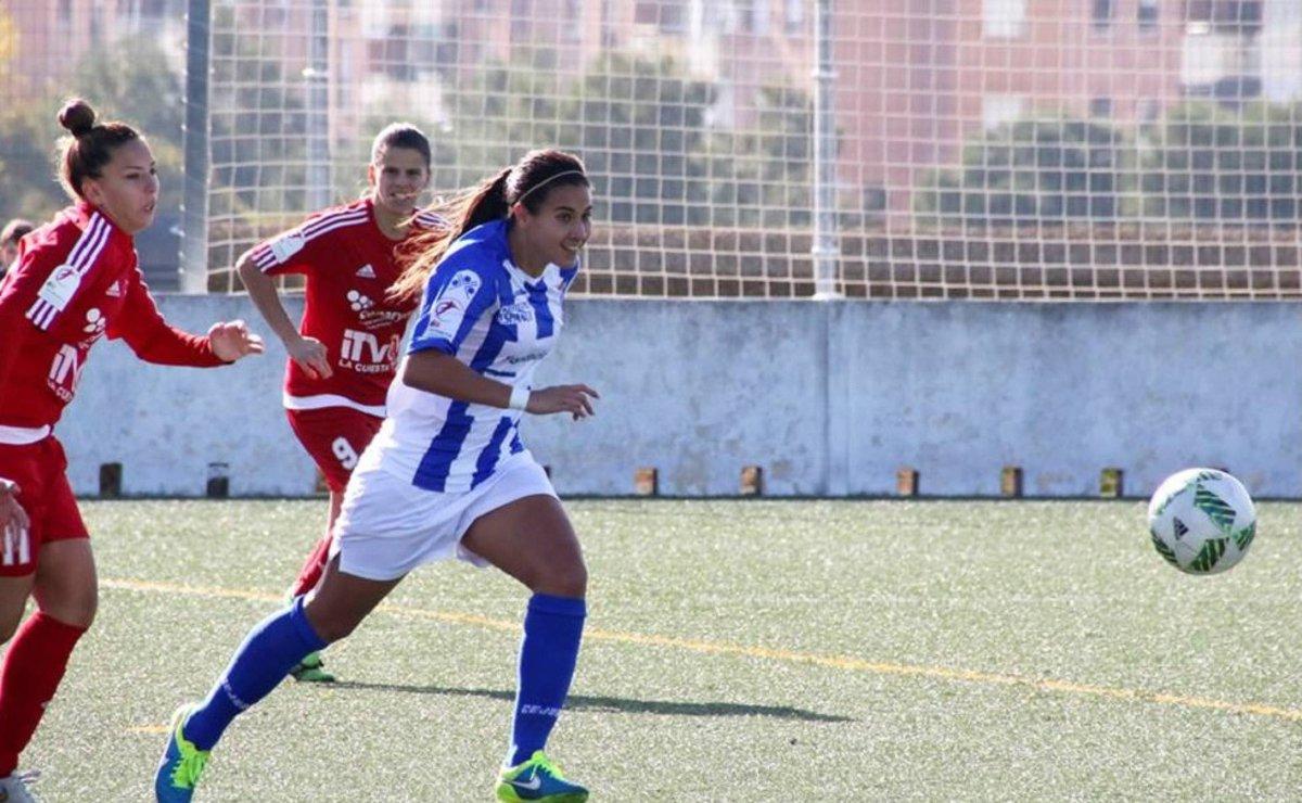 Nayeli Rangel mejor jugadora Sporting Huelva