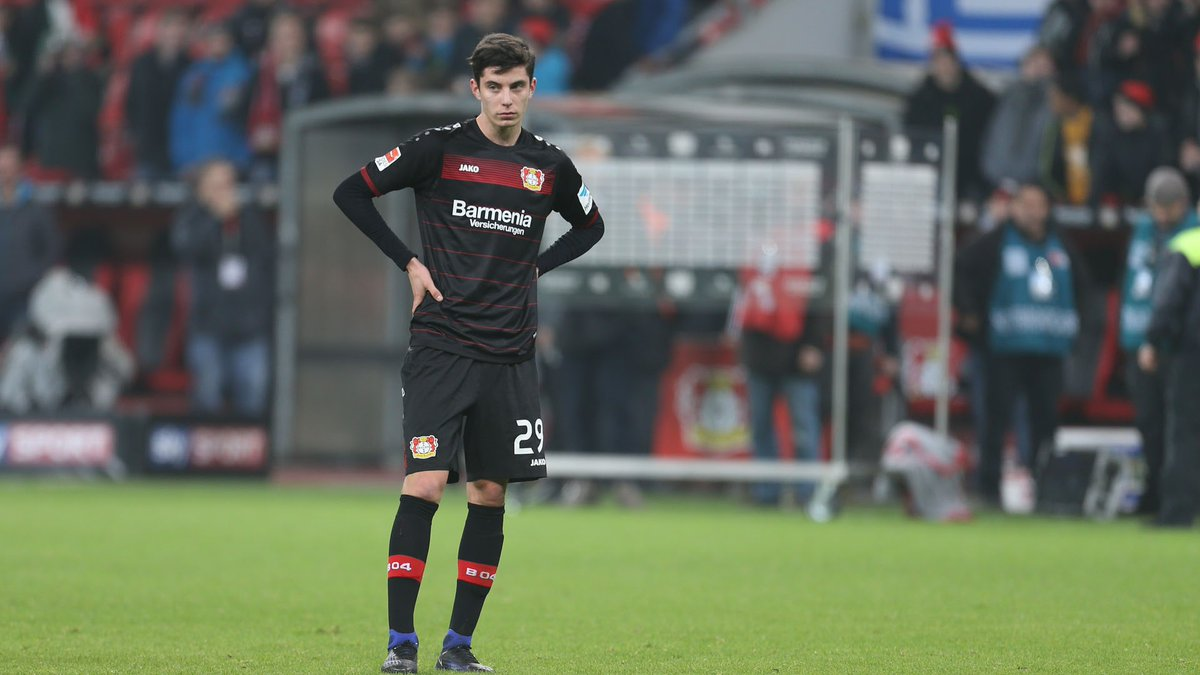 Kai Havertz escuela Bayer Leverkusen Champions League