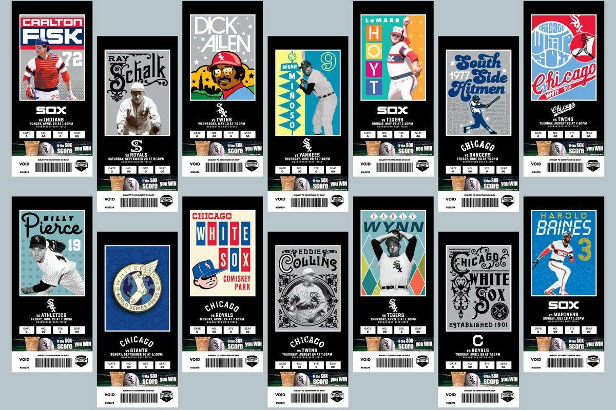 Boletos White Sox Obras de Arte entradas