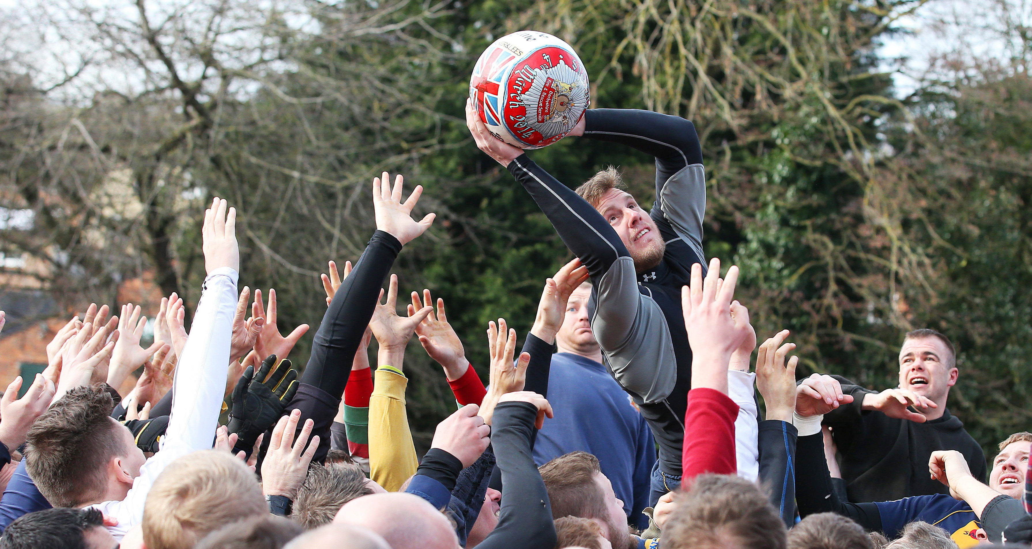 Royal Shrovetide partido Ashbourne