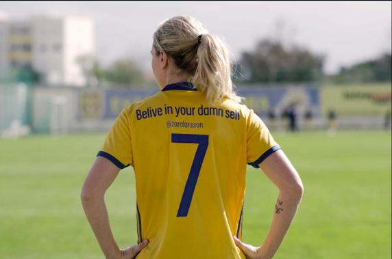 Selección femenil Suecia Campaña Mujer
