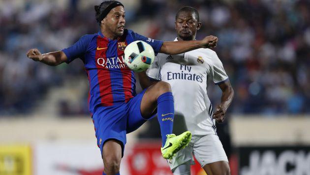 Ronaldinho Barcelona Amistoso Clásico