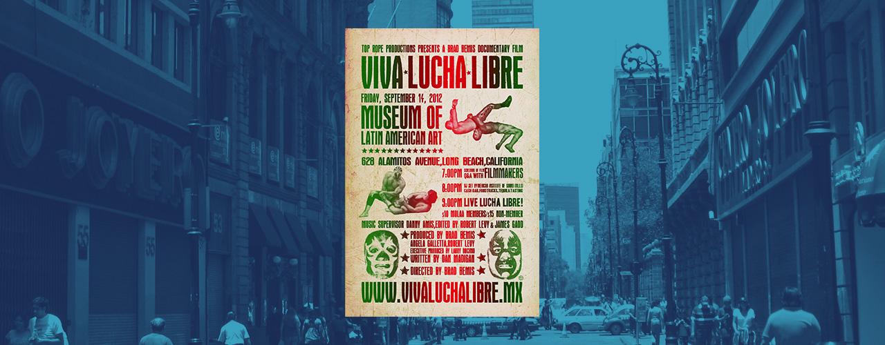 Lucha Libre Cartel Arte