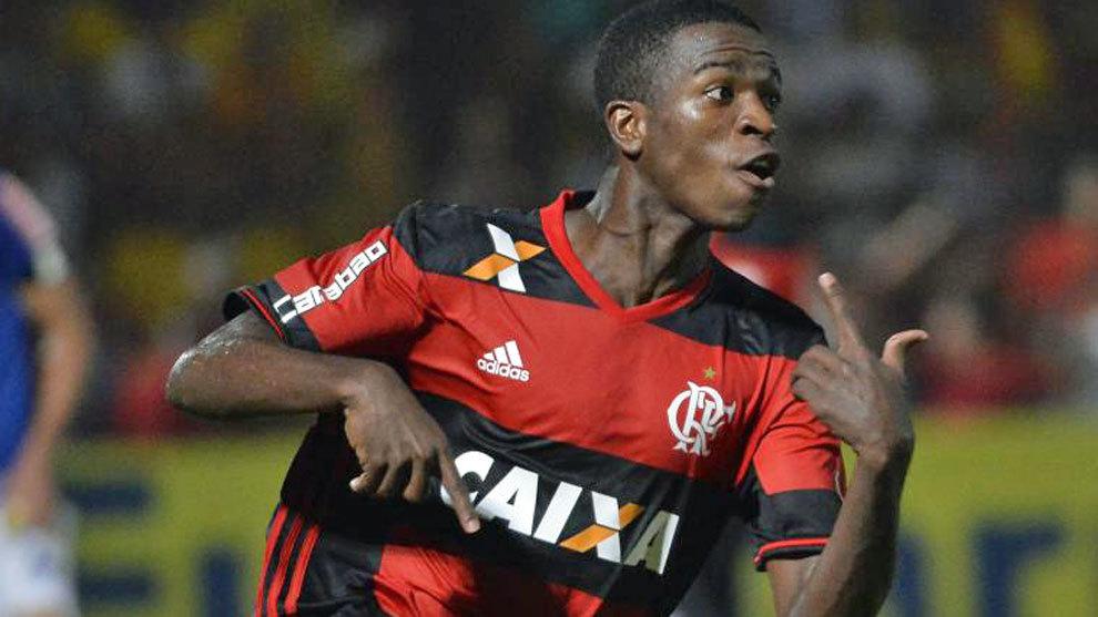 Vinicius Junior Flamengo Real Madrid