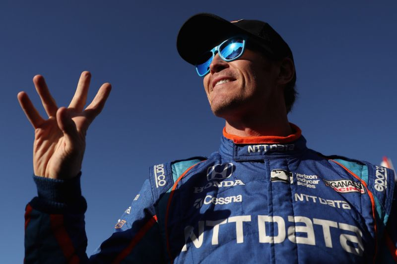 Scott Dixon asaltado Indy 500