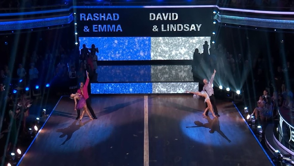 David Ross Rashad Jennings Dancing with the Stars MLB NFL