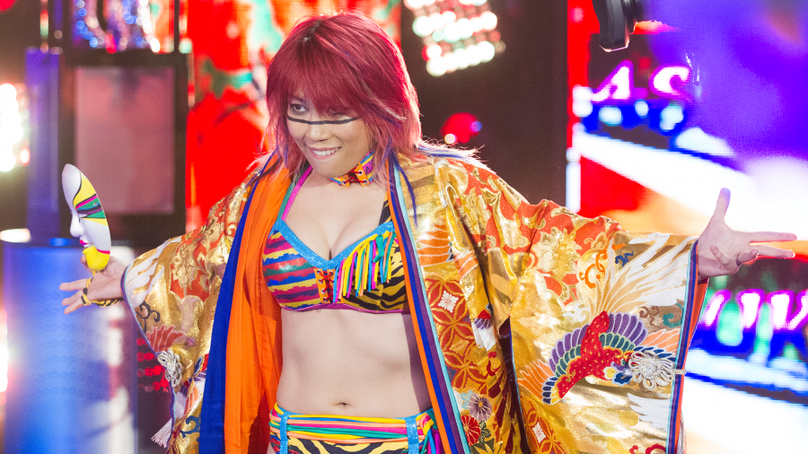 Asuka récord Goldberg WWE