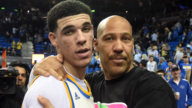 LaVar Ball Lonzo Ball Tenis Michael Jordan