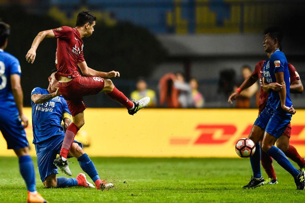 Oscar sanción pelea liga china