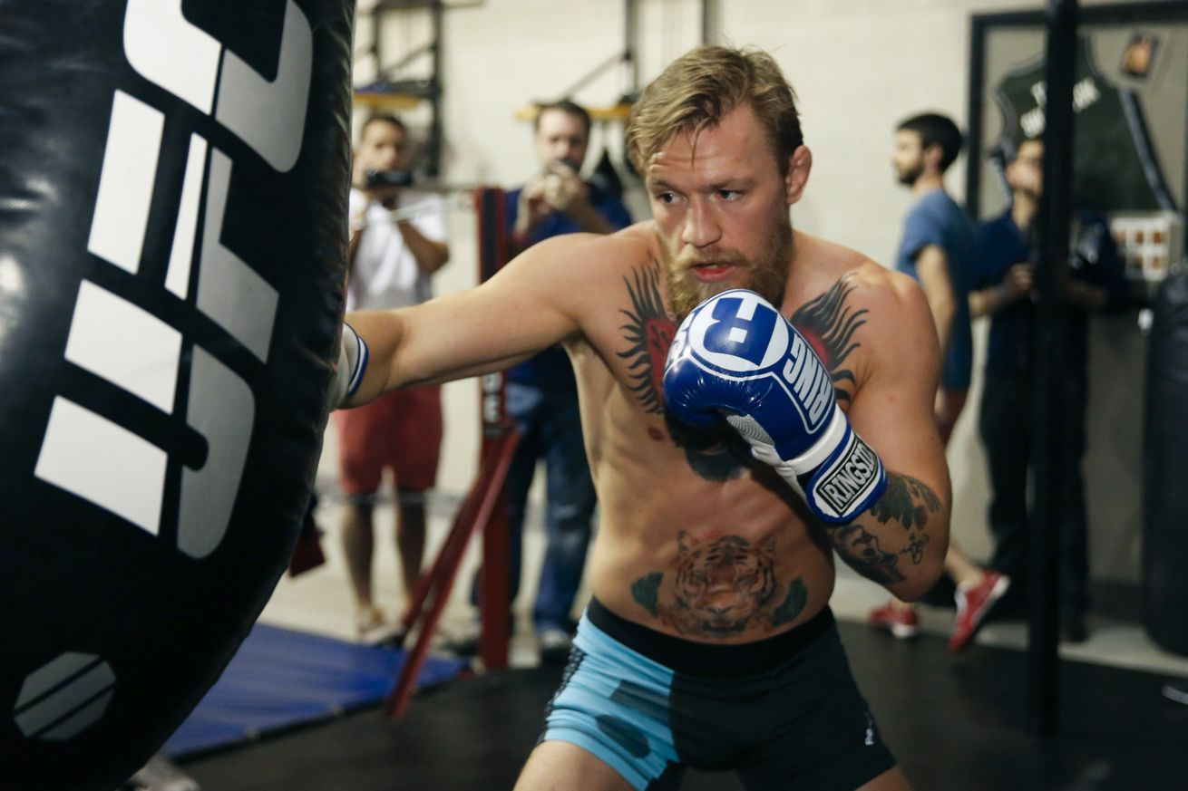 McGregor. Mayweather, preparación, box, ufc, instagram, video, publicación