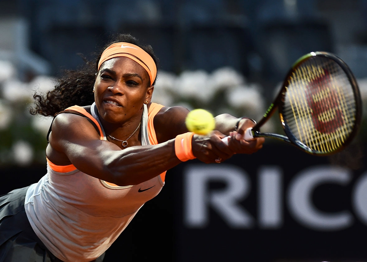 Serena Williams Embarazo Práctica