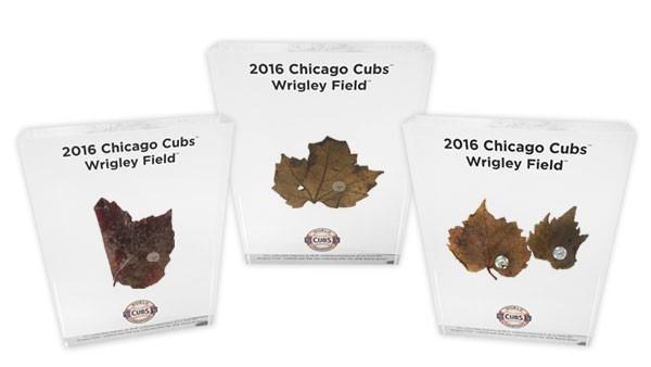 Chicago Cubs Serie Mundial Hojas recuerdo