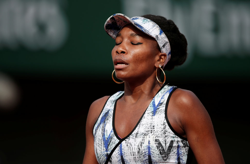Venus Williams tenista accidente automovilístico carro fallecido