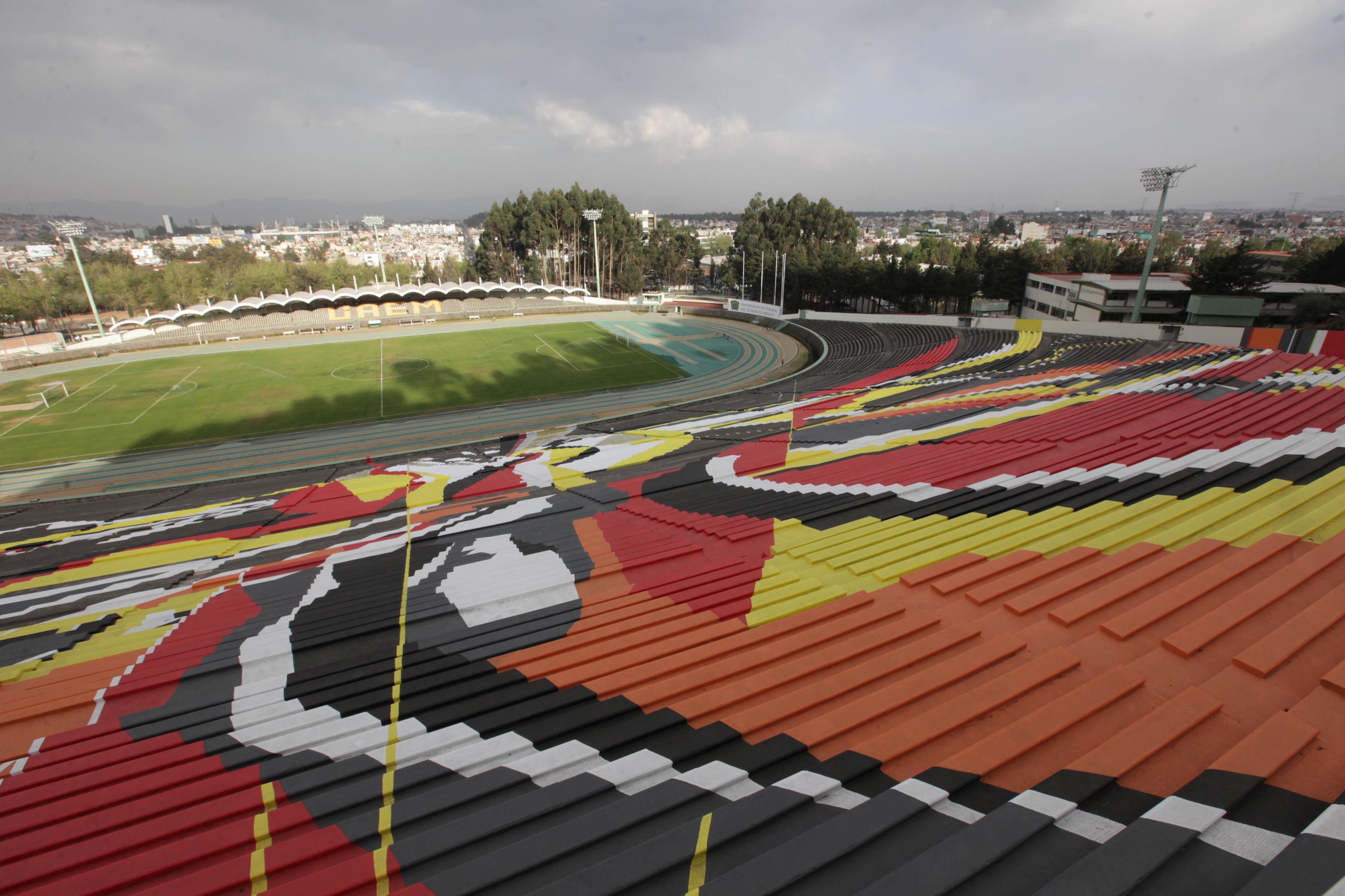 Ascenso MX, Potros UAEM, estadio, embutacar, mural, patrimonio cultural, 2017, para ascender
