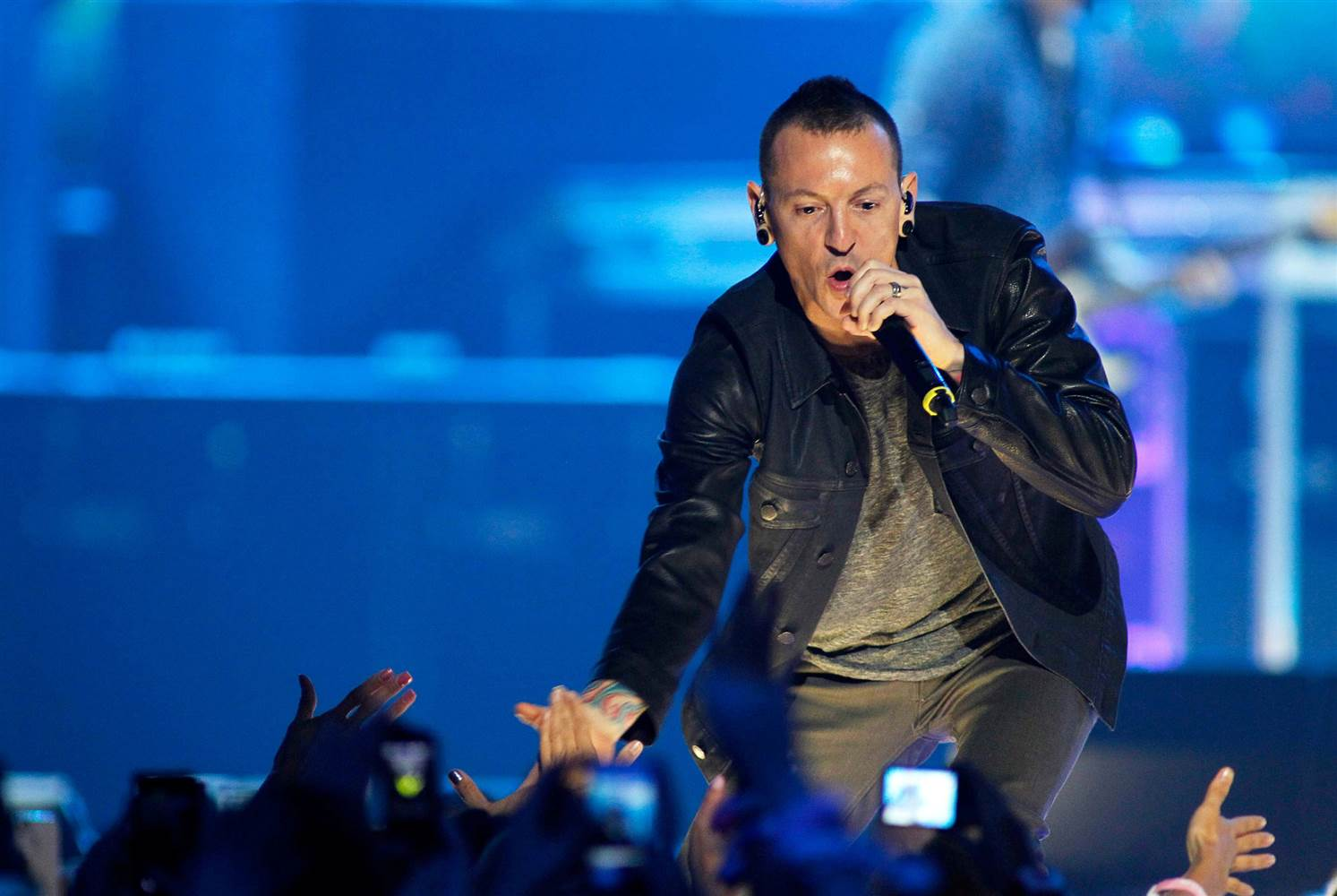 Chester Bennington Ipswich Town Fan Linkin Park Suicidio