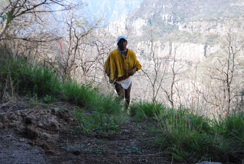 rarámuris, deportistas profesionales, ultramaratón, huaraches, ganan, ropa típica, cañones, caminos de lodo, 100 kilómetros
