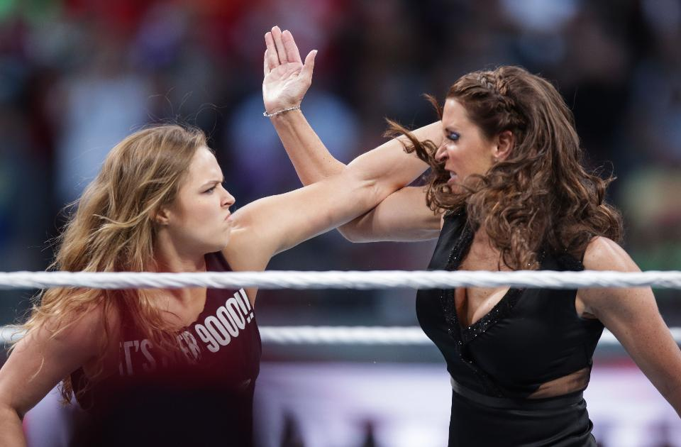 Ronda Rousey, WWE, rival, Charlotte Flair