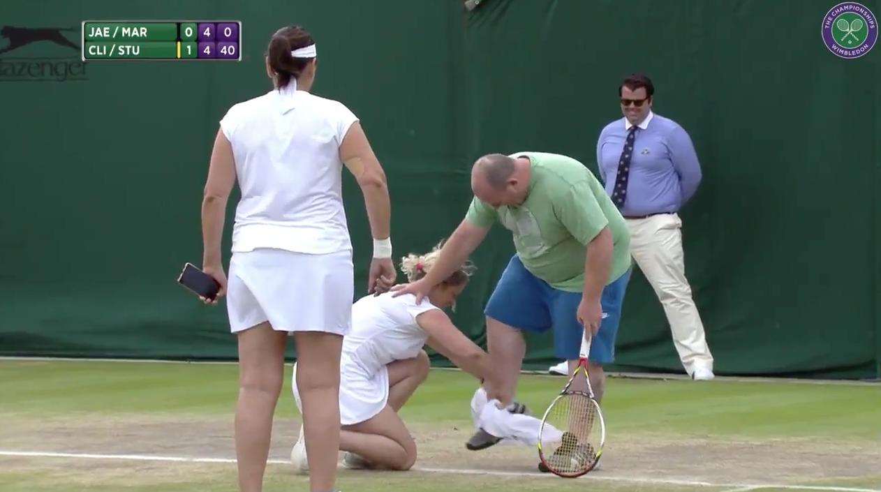 tenis, Wimbledon, aficionado, Londres, dobles femenil