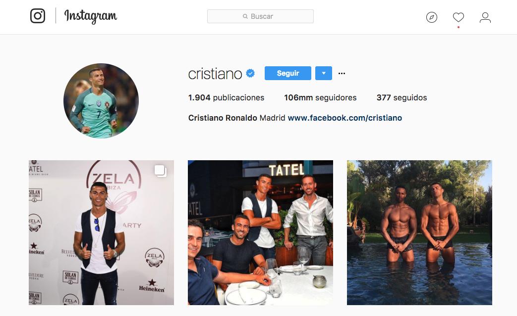 Instagram. popular, futbol, deporte