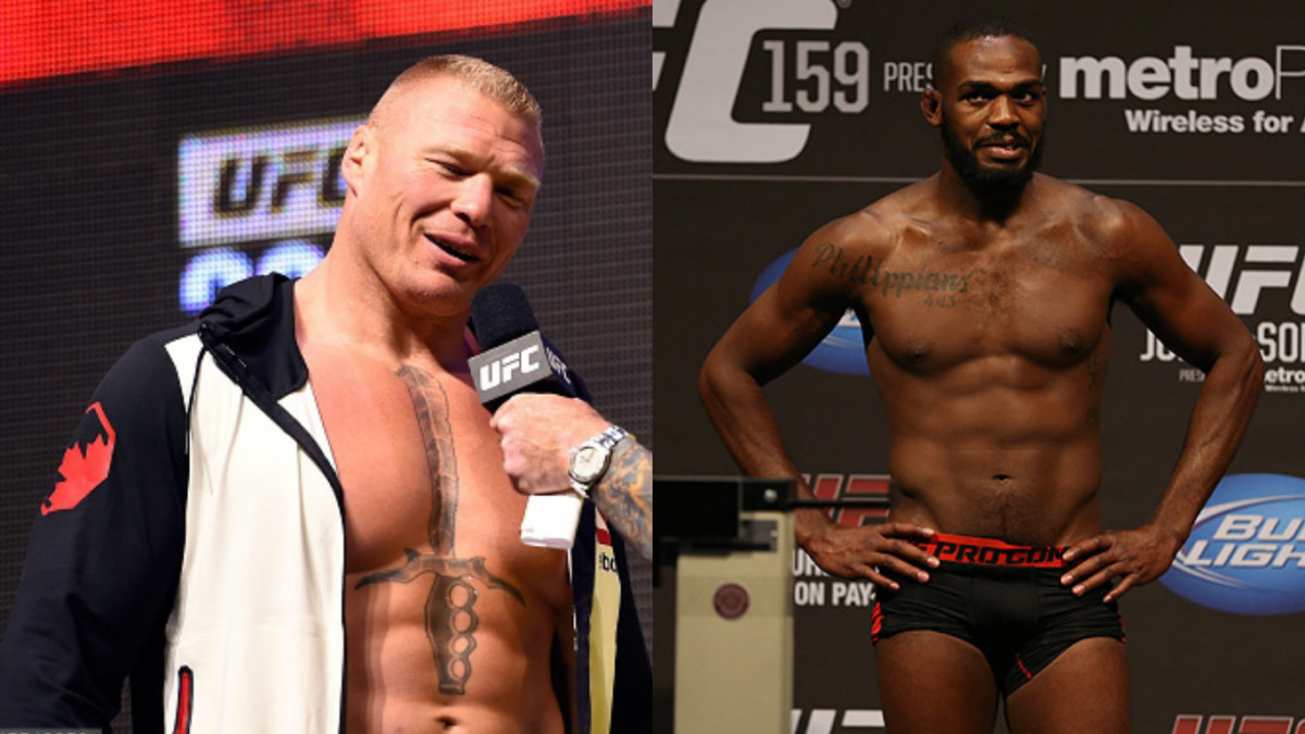 Brock Lesnar Jon Jones UFC Pelea
