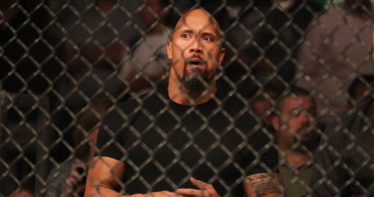 The Rock WWE UFC unirse penso