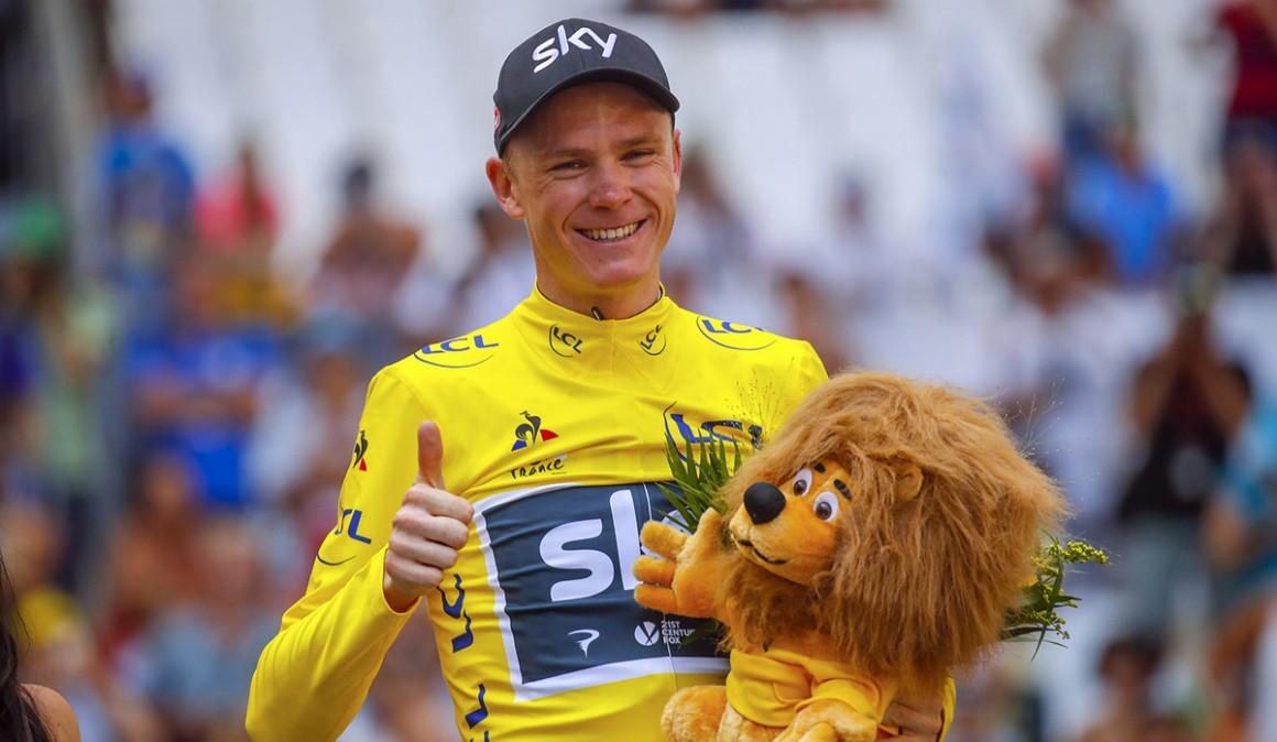 Chris Froome Tour de Francia Campeón Keniano