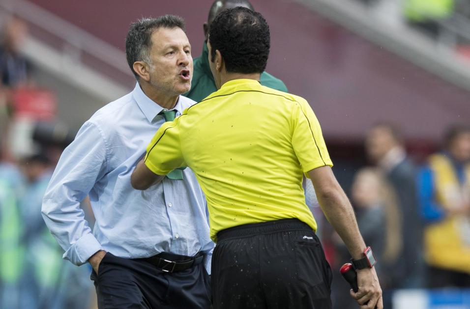 Juan Carlos Osorio México Copa Confederaciones Suspensión FIFA Copa Oro