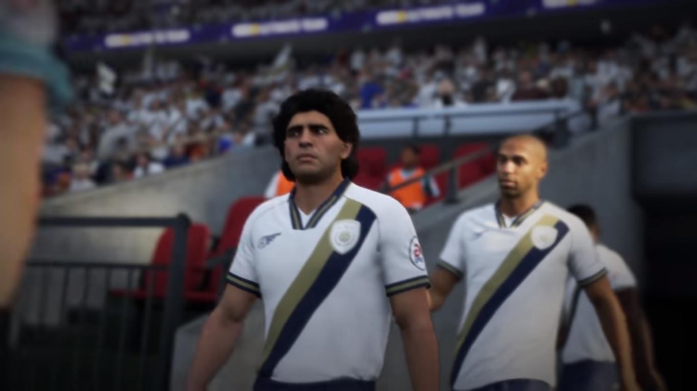Maradona, FIFA 18, valoración, apariencia, Videojuego, icono, argentino