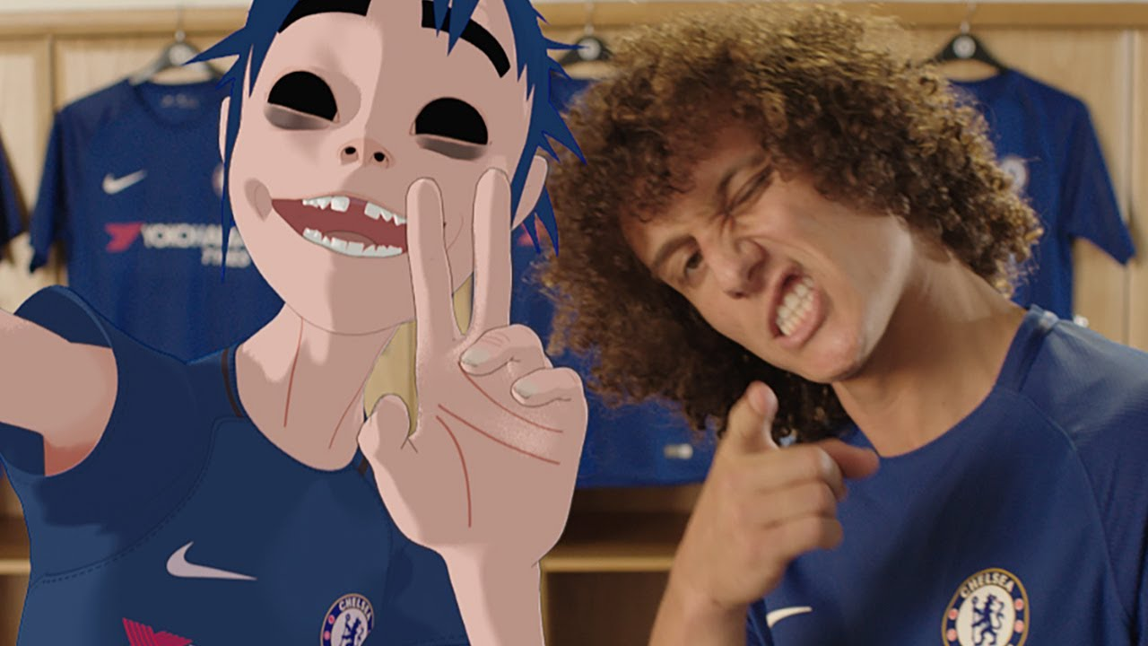 Chelsea, David, Luiz, Gorillaz, Premier, League