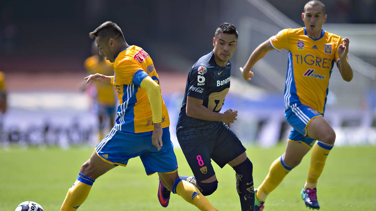 Pumas Tigres Apertura 2017 Jornada cinco