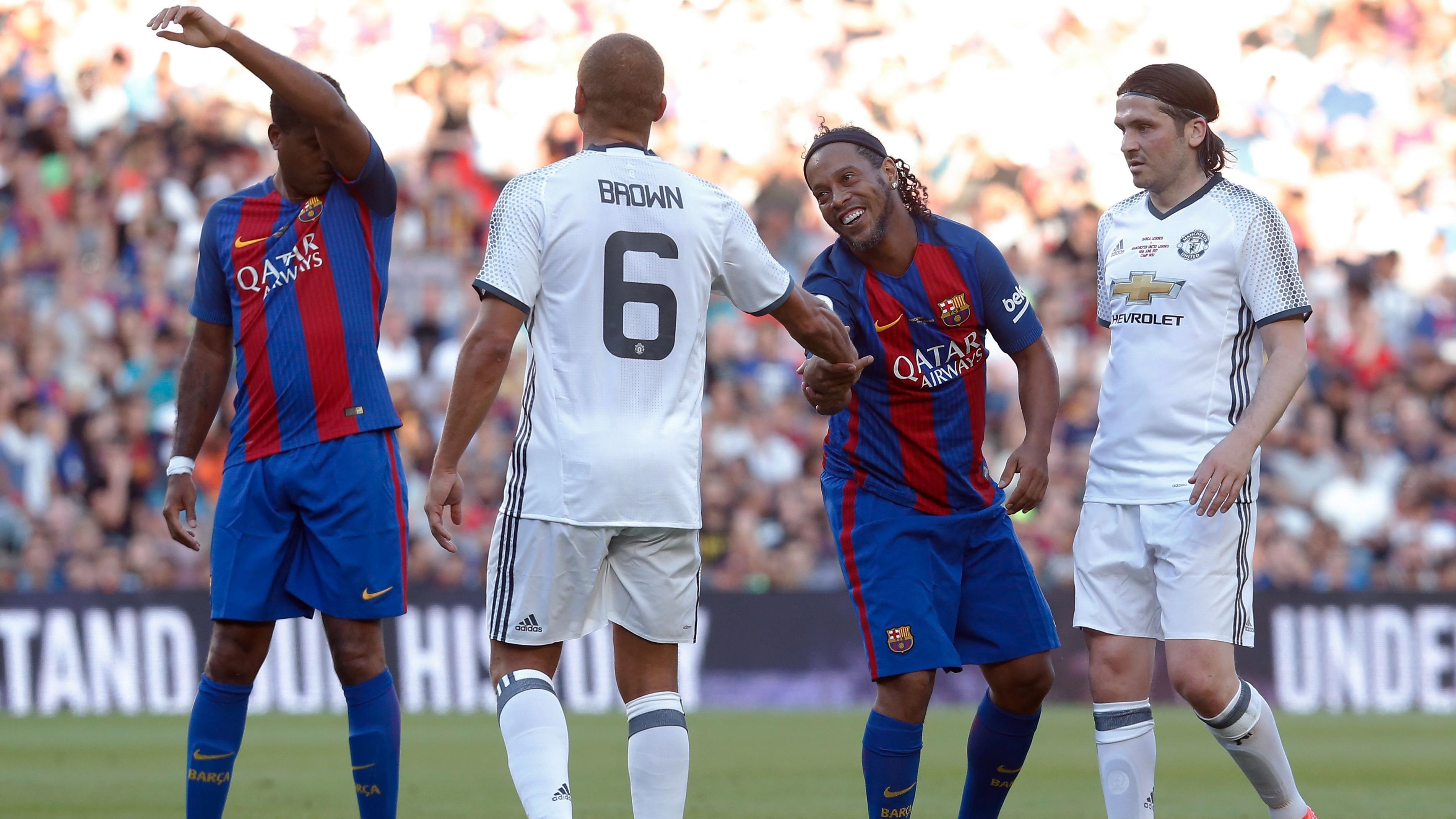 Barcelona Manchester United Partido Leyendas Terrorismo