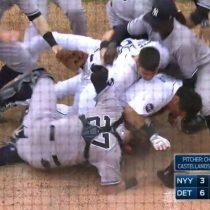 Cabrera golpes video Yankees Detroit Tigers New York