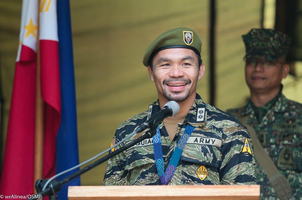 Pacquiao Estado Islámico militar guerra Filipinas