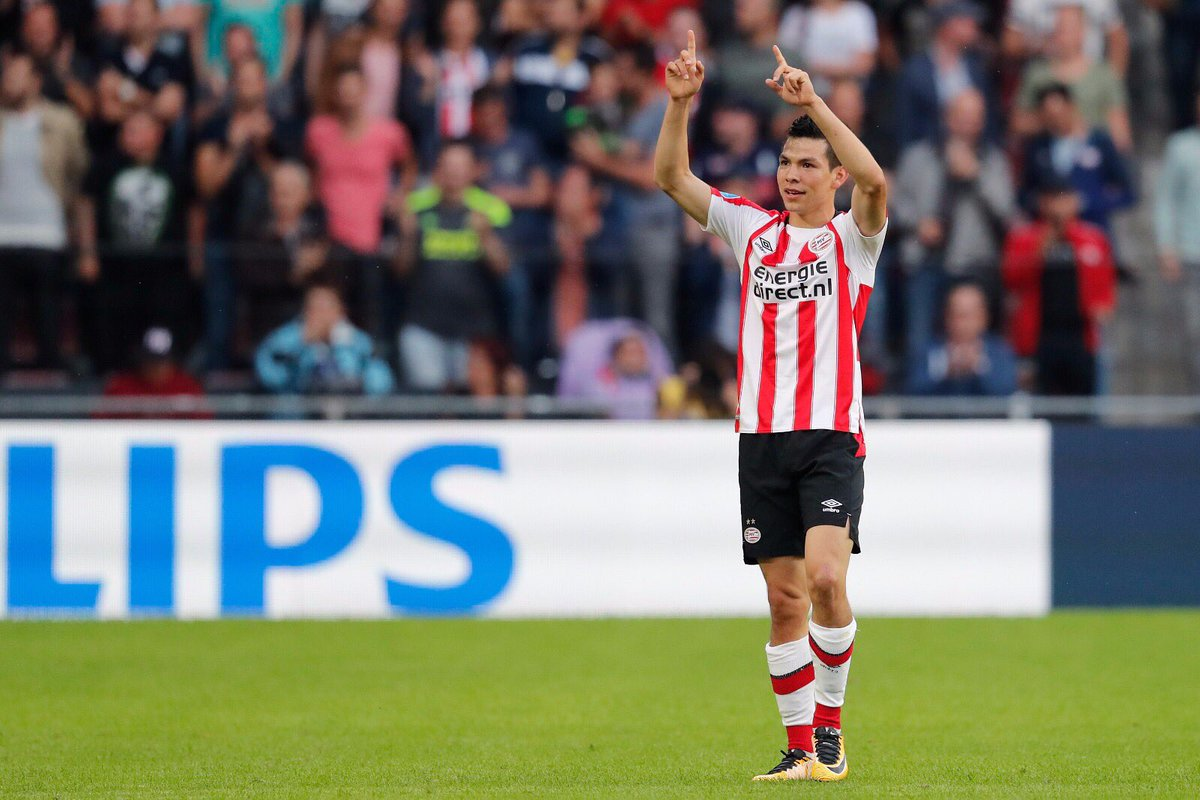 Hirving Lozano, México, PSV, Holanda, gol, Maradona, futbol, mexicanos en Europa