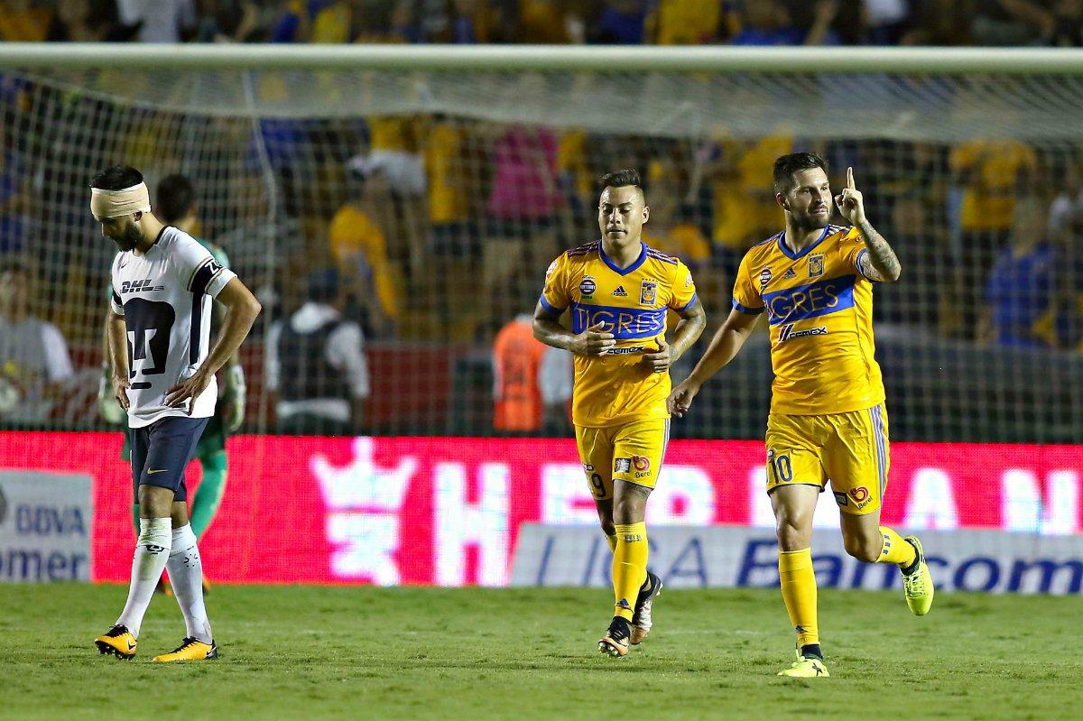 Pumas Tigres victoria jornada 5 Apertura 2017