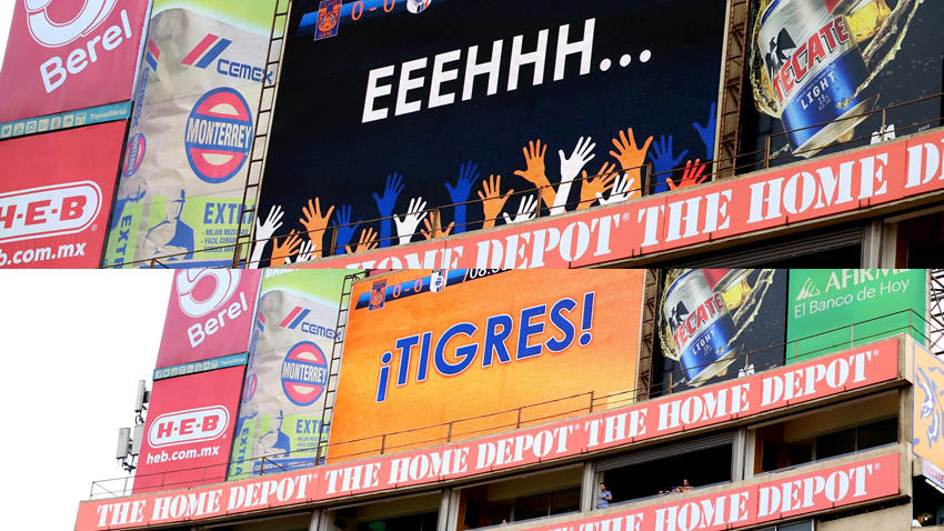 Puto Tigres UANL grito estadio video