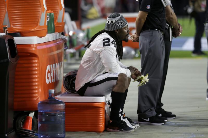 NFL, racismo, Marshawn Lynch, Raiders, protesta, himno Estados Unidos, Colin Kaepernick
