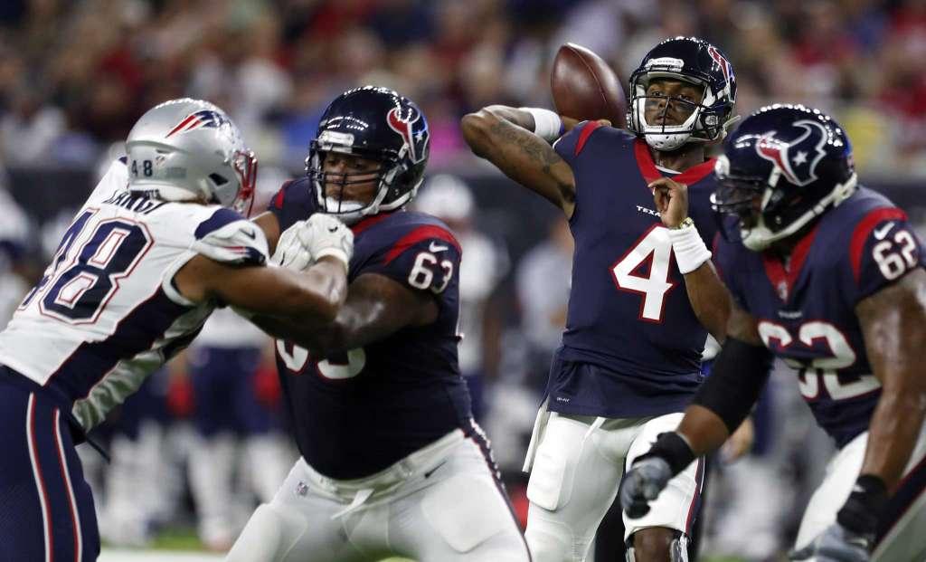 Houston Texans QB, NFL novato selecciones de draft Deshaun Watson Bengals