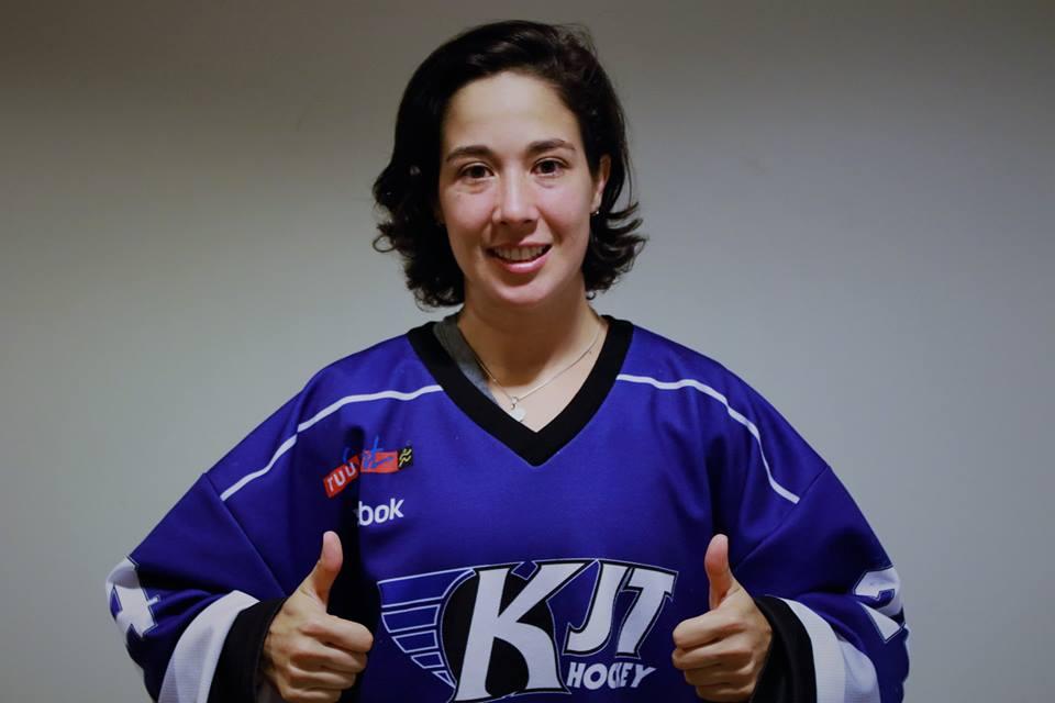Bertha González hockey femenil mexicana Finlandia