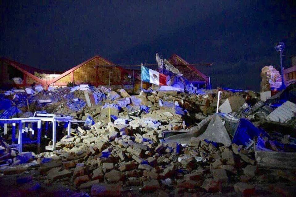 Terremoto, mensajes, deporte, México, futbol, NFL, Oaxaca, Chiapas, afectados