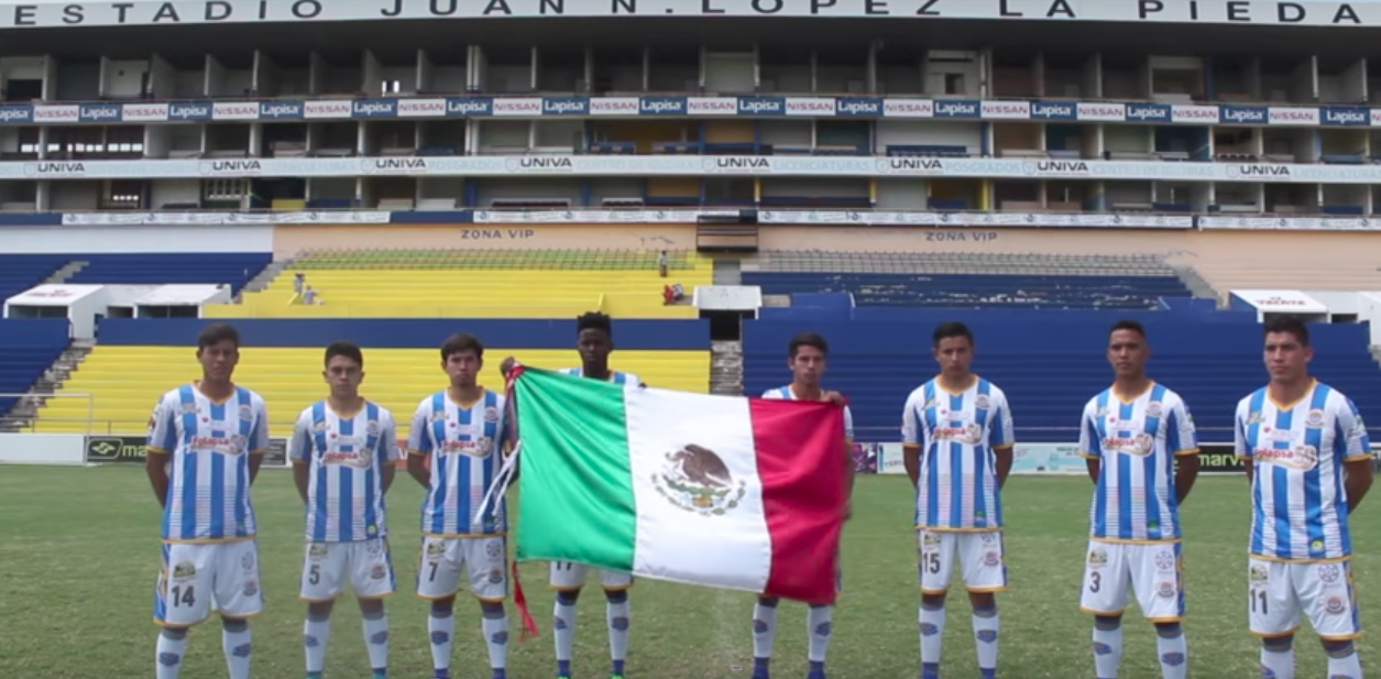 Mensaje, emotivo, Liga Premier, La Piedad, futbol, Segunda División, Video, sismo