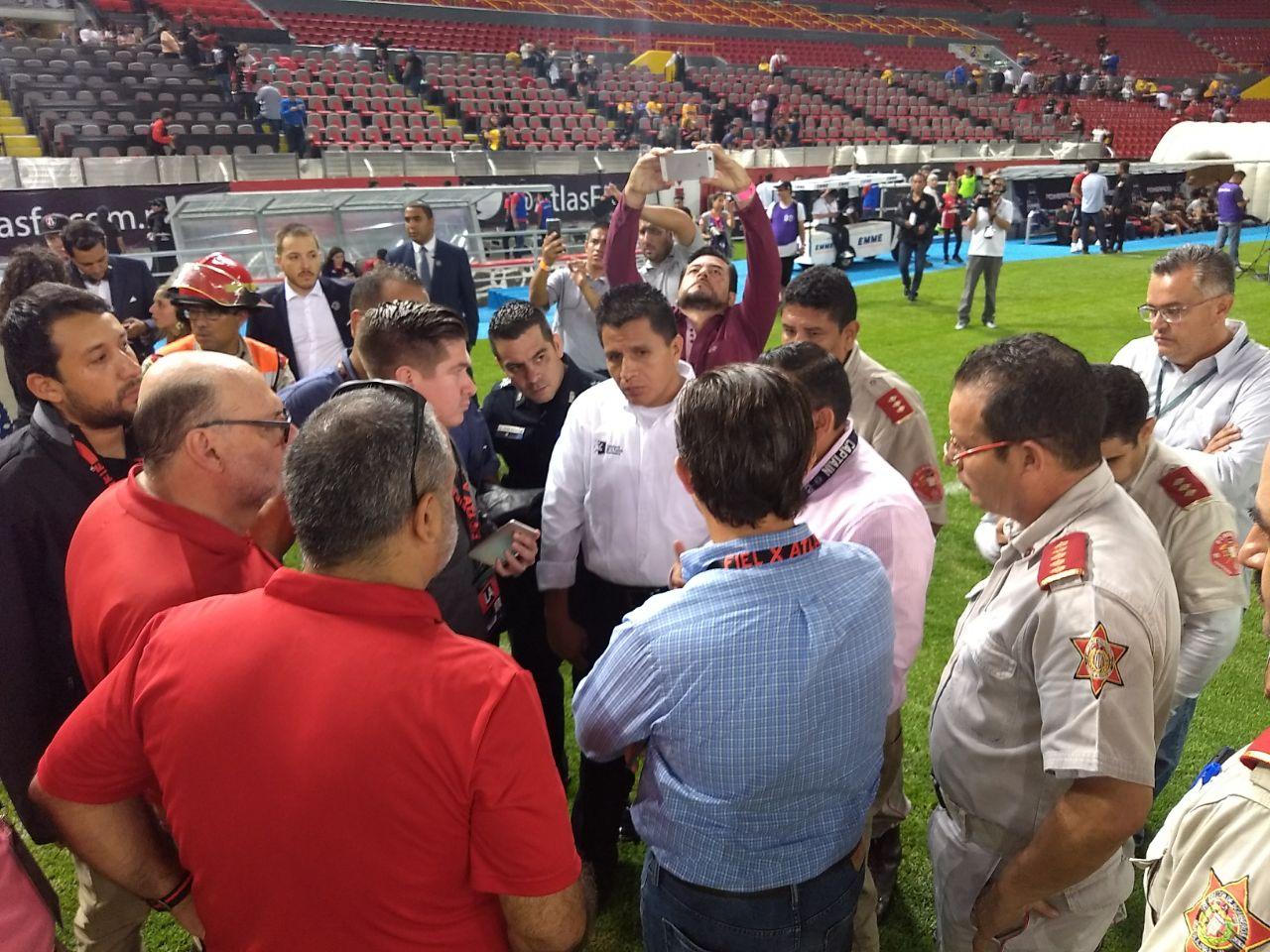 Tigres, Atlas, partido suspendido, Liga MX, futbol mexicano, FMF