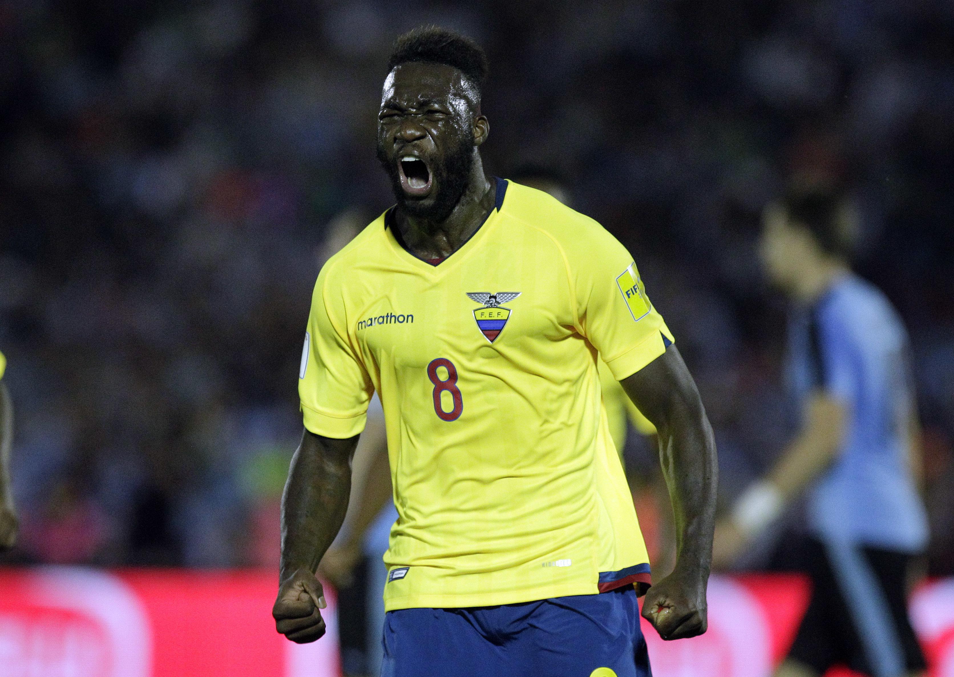 Ecuador Selección Felipe Caicedo retiro