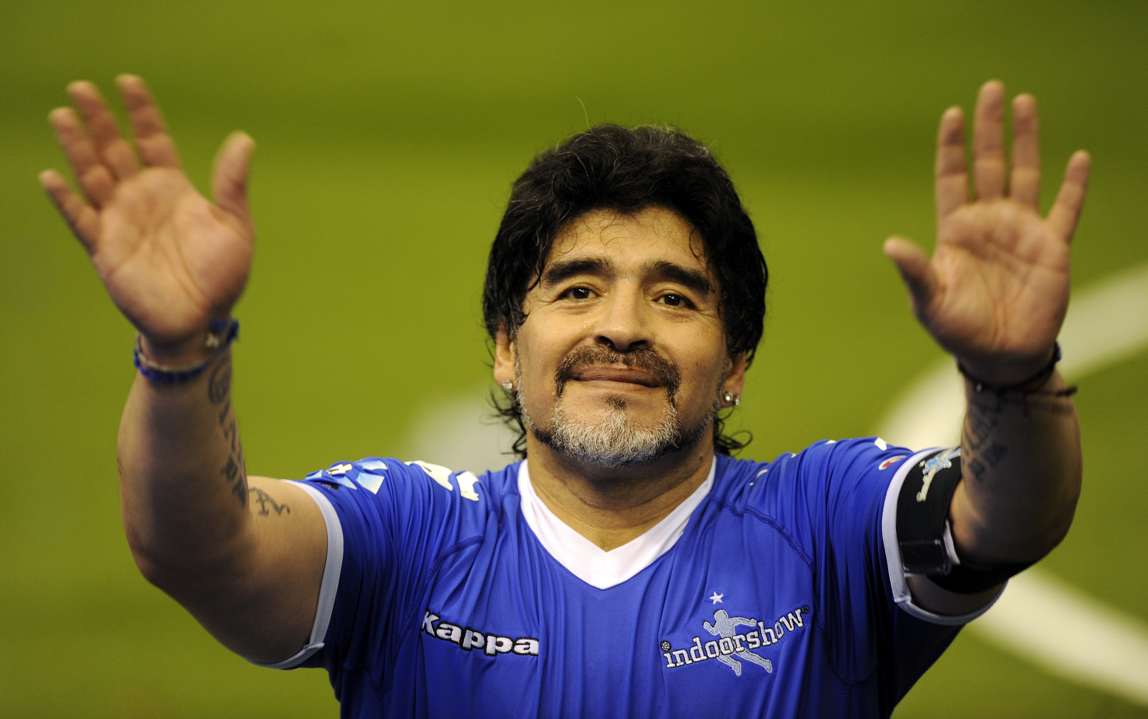 Maradona, manda mensaje, afectados, sismo, huracán, irma, Cuba, apoyo