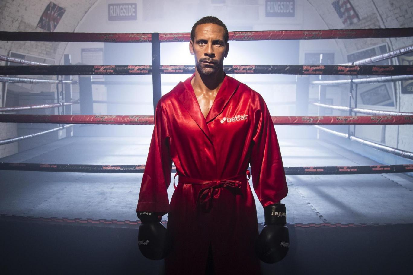 Rio Ferdinand Boxeo Manchester video debut de ferdinand Entrenamiento