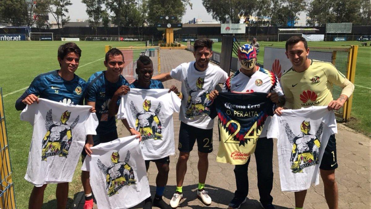 Sin Cara Alan Pulido Clásico América Chivas Guadalajara
